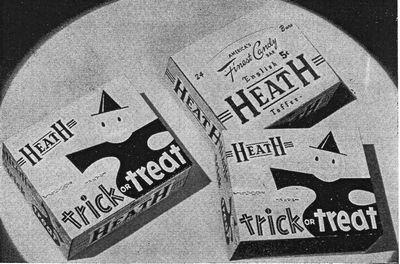 Heath halloween package 1955
