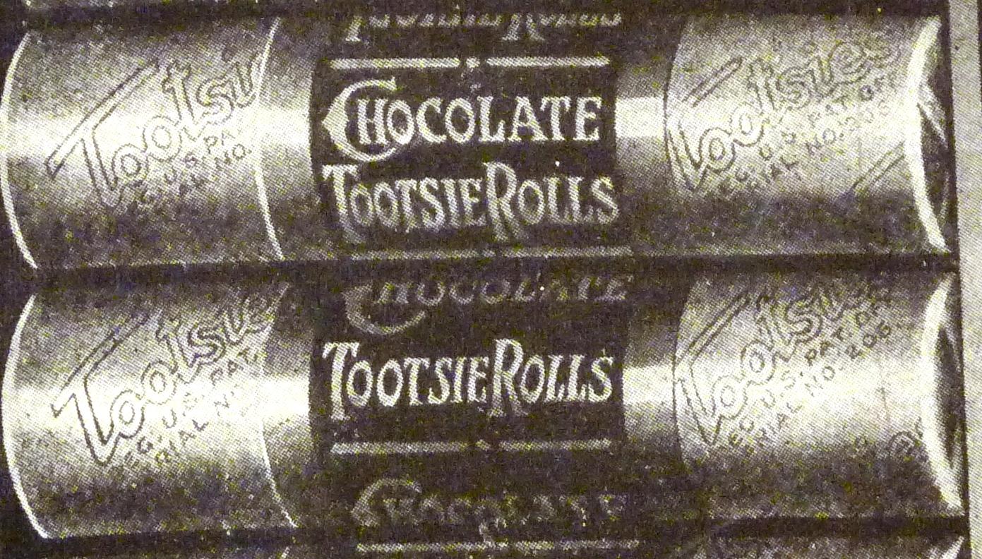 Tootise Roll Ice Cream Cake
