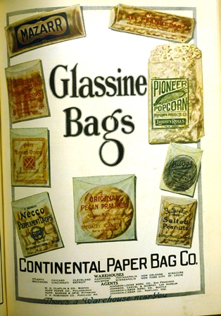 Early Glassine Wrappers Candy Professor