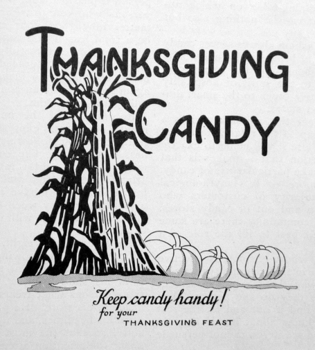 thanksgiving candy