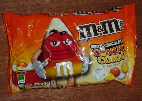 MM candy corn package